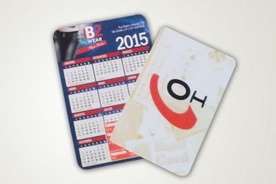 Calendário de Bolso no Campo Limpo - Calendário 2016
