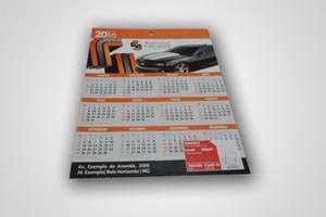 Calendário de Parede em Rudge Ramos - Cartão de Pvc para Convênio