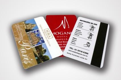 Cartão Chave no Jardim Lídia - Cartões em Pvc Branco