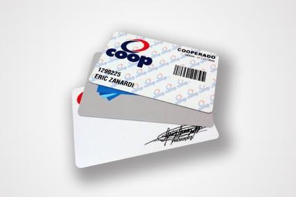 Cartão de Associado no Brooklin Novo - Cartões em Pvc Branco