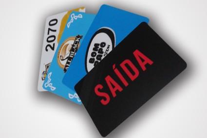 Cartão de Consumo na Vila Santana - Réguas de Pvc