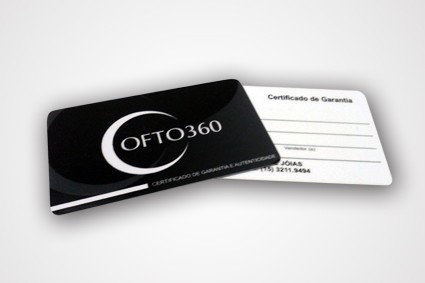 Cartão de Garantia no Conjunto Encosta Norte - Calendário em Santo André