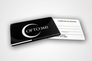 Cartão de Garantia Preço na Vila Falchi - Certificado de Garantia em Pvc