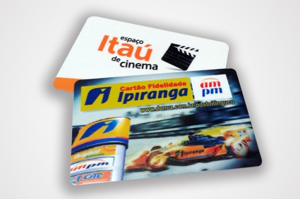 Cartão de PVC Personalizado na Vila Argentina - Réguas de Pvc
