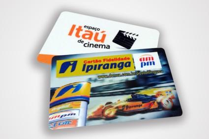 Cartão de PVC Personalizado na Vila Floresta - Réguas Personalizadas