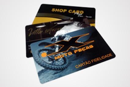 Cartão Fidelidade no Sítio Botuquara - Cartão de Pvc com Chip