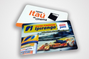 Cartão Personalizado no Ibirapuera - Cartão de Pvc com Chip Mifare