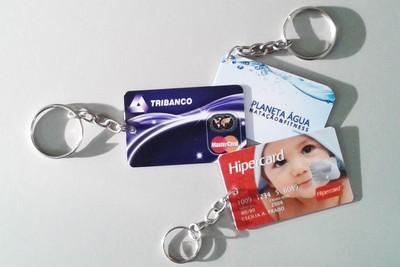 Chaveiros em PVC Personalizados na Vila Zefira - Cartões em Pvc Preço