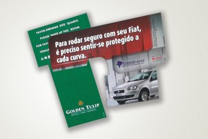 Display Preço no Conjunto Residencial Novo Pacaembu - Cartão de Garantia