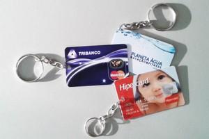 Preço do Chaveiro Personalizado no Recreio da Borda do Campo - Cartão Chip