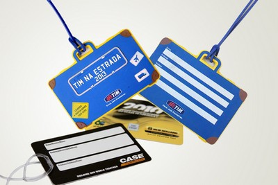 Tag de Bagagem no Conjunto dos Bancários - Cardápio de Plástico