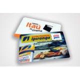 Cartão de PVC personalizado em Caxingui